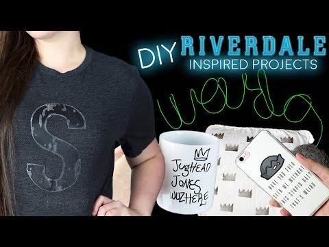 DIY Riverdale Decor l T-Shirt, LIGHT & MORE!
