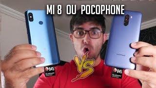 A batalha mais Aguardada - PocoPhone F1 Vs Xiaomi Mi 8! AGORA COMPLICOU! Qual afinal?