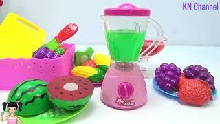 ChiChi ToysReview TV - Trò Chơi máy xay sinh tố rau quả ngon tuyệt