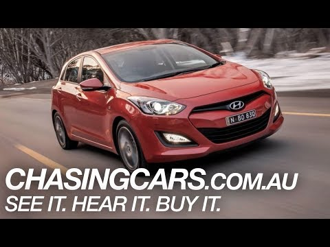2013 Hyundai i30 Review (Hyundai i30 SR)—EXCLUSIVE Video Review—Chasing Cars Australia