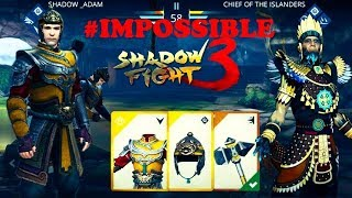 Shadow Fight 3 Chapter 5 Part 3 : Defeat Chief Of Islanders On Impossible Level on First Try