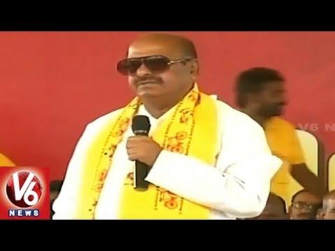 JC Diwakar Reddy Slams BJP Govt Over Special Status | Kendra Vivaksha Deeksha | V6 News