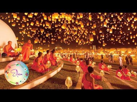 Beautiful Lantern Festival - Yi Peng - Thailand
