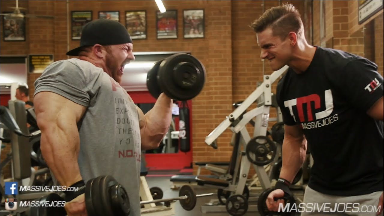 Flex Lewis Arm Workout