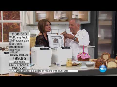 HSN | Chef Wolfgang Puck 10.09.2016 - 01 PM