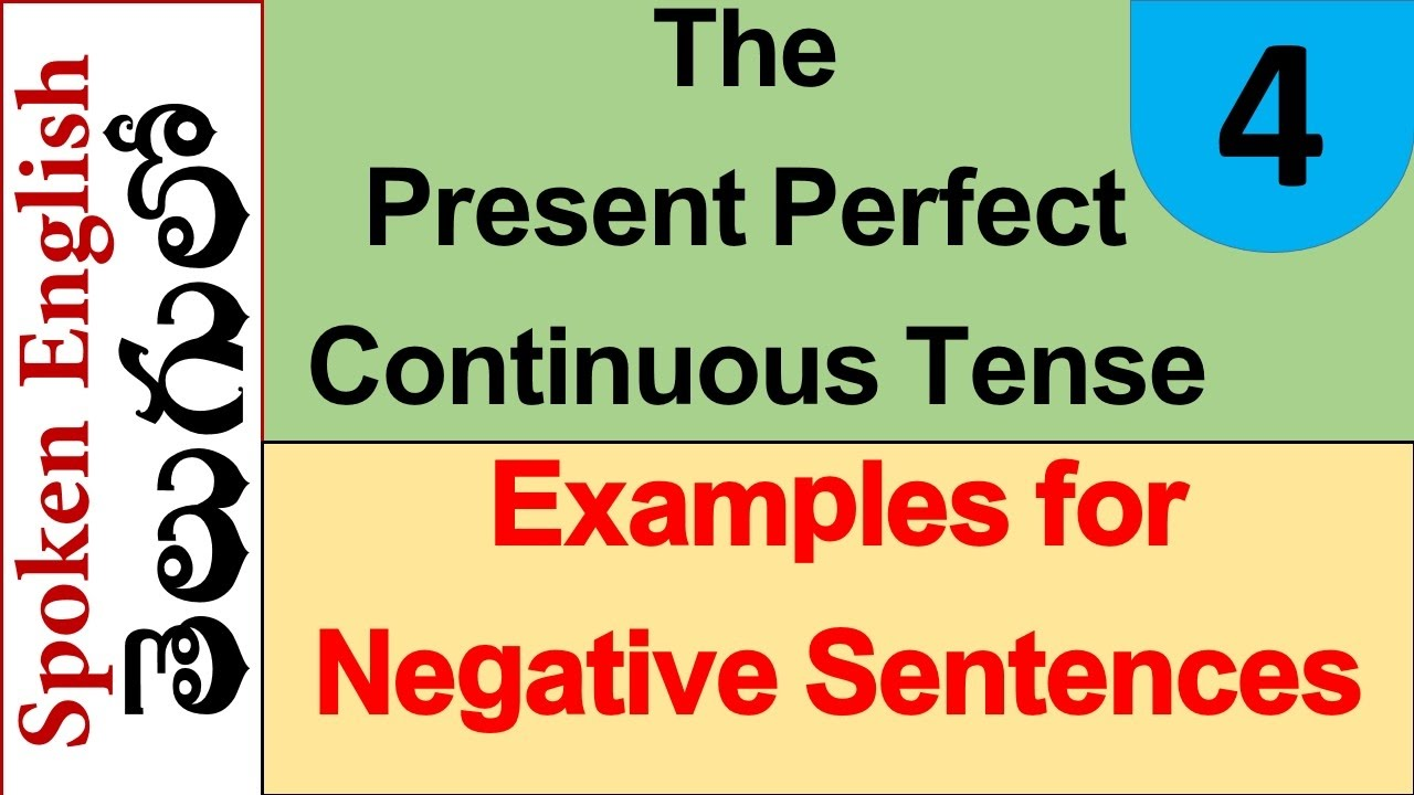 Present Perfect Formula Present Perfect Continuous