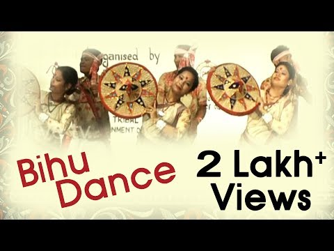 Bihu Dance Of Assam - Indian Folk Dance - National Tribal Dance Festival - Bhubaneswar 2013 video