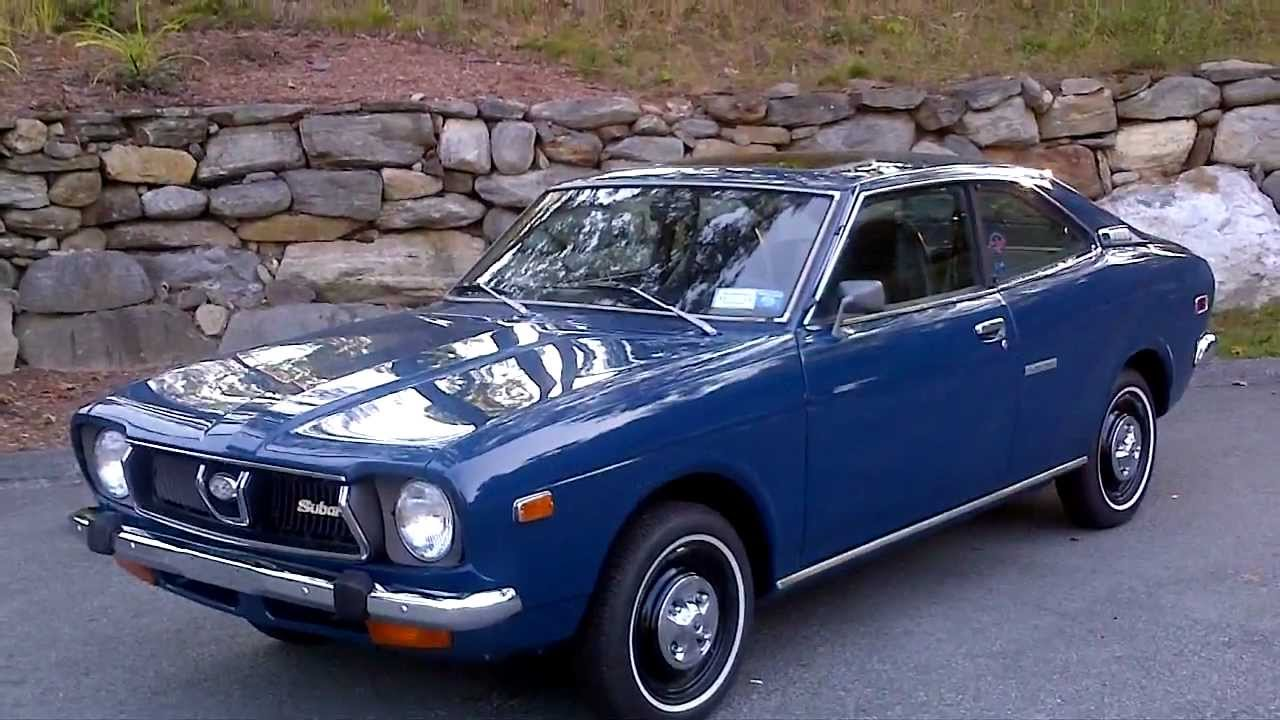1973 Subaru Gl1400 Coupe At Alphacars In Boxborough Ma