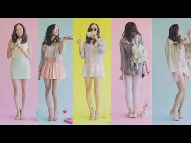5 Dessert Inspired Outfits- How To Wear Pastels