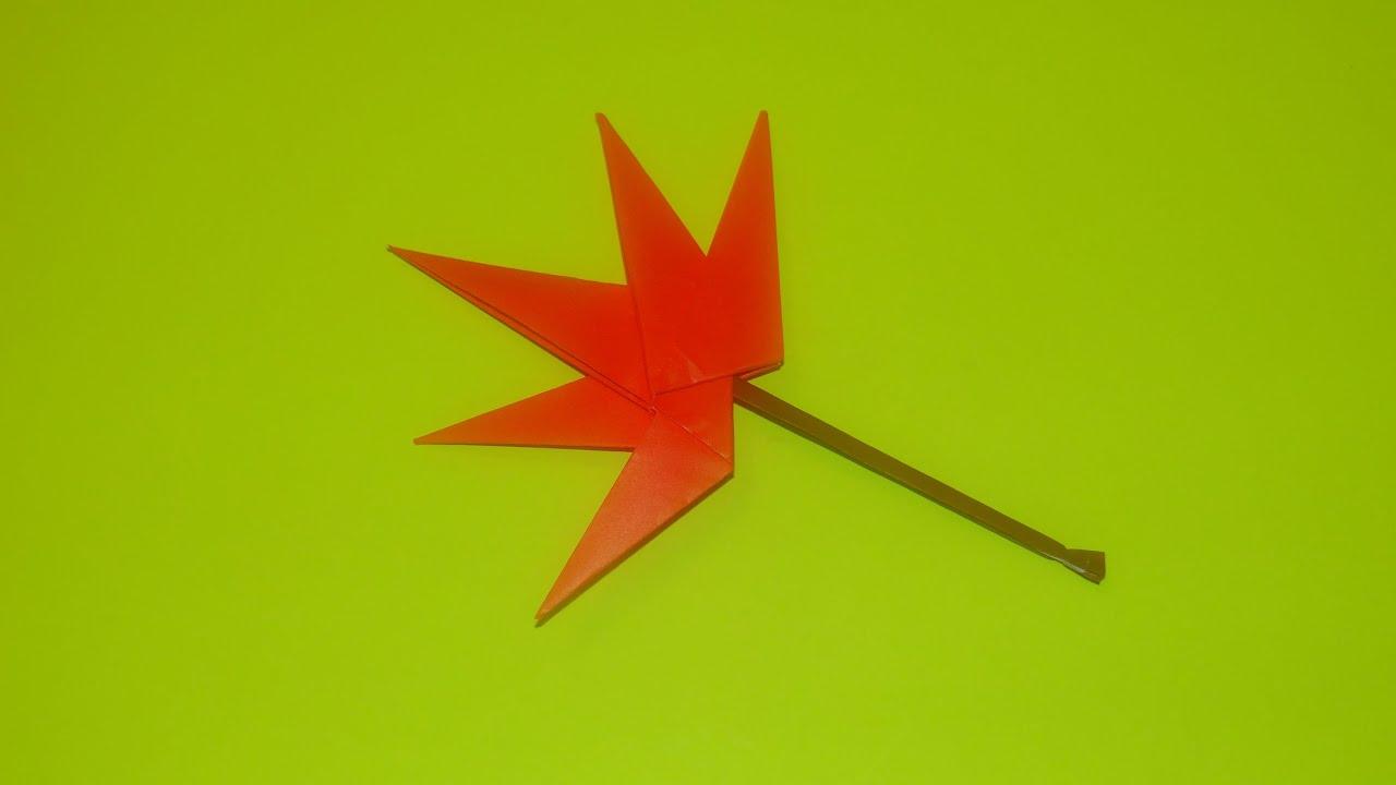 Maple Leaf vs Pot Leaf Make an Origami Maple Leaf