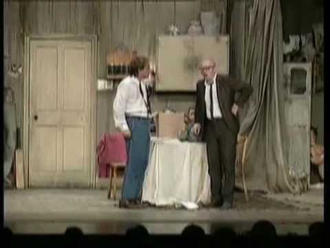Rik Mayall & Adrian Edmondson break character