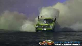 OUTLAW BLOWN HOLDEN UTE AT BURNOUTS UNLEASHED 23.8.2014