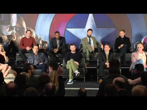 Copy of Captain America: Civil War European Press Conference Highlights