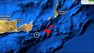 6.1 Earthquake Strikes Off the Coast of Greece