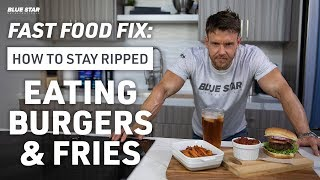 Fast Food Fix: How To Stay Ripped Eating Burgers & Fries Ft. Rob Riches