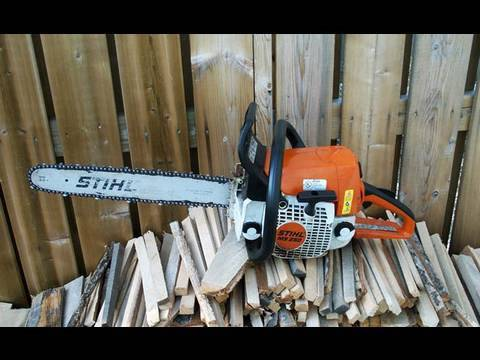 Repair of Stihl MS250 Chainsaw PARTIAL ENGINE REBUILD - Part 4 of 4