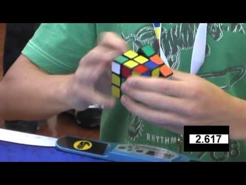 Feliks Zemdegs Rubiks cube (former) world record 6.65 - slow motion