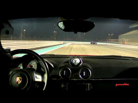 Yas Marina track night - Porsche Club UAE - 20-09-13 - Cayman S