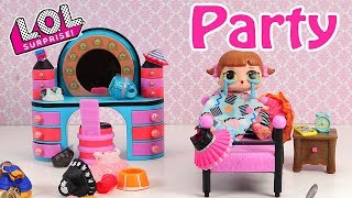 🎉👗LOL Surprise Doll Party Invitation Stop Motion Video🎉👗🌼