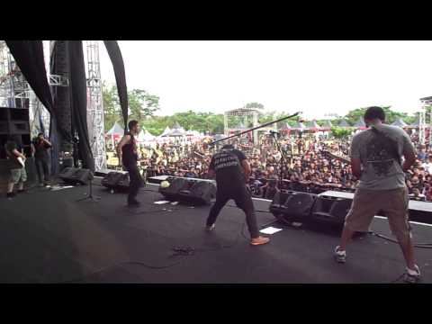 Revenge - Global Suffering Disease Live at Hammersonic Metal Festival 2013