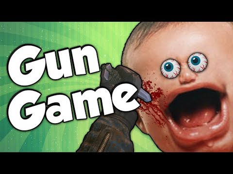 MW3: Gun Game Reactions Ep.1 (Humiliation)