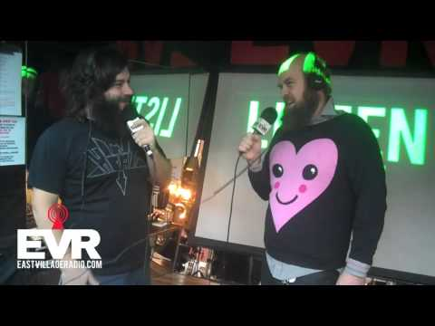 Les Savy Fav's Tim Harrington on EVR.com's Death By Audio