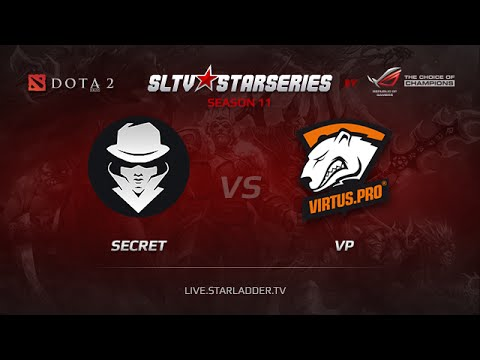 Secret vs VP, SLTV Europe Season 11, Day 10