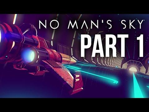 No Man's Sky Walkthrough Part 1 - FIXING THE STARSHIP & INTRO (PS4 Gameplay)