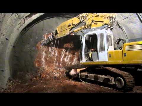 Panagopoula Railway Tunnel, Greece. West Construction Site (Σήραγγα Παναγοπούλας)