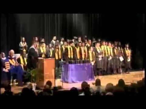 Dr  Wright L  Lassiter Jr  Early College High School at El Centro College Graduation 2014