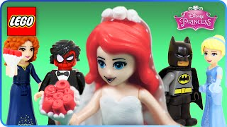 ♥ LEGO Disney Princess Ariel & Cinderella Royal Dream Wedding Day