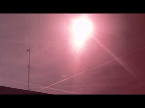 Chemtrails, Bloomington Indiana Nov. 29, 2012