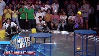 Office Fling | Minute To Win It - Last Tandem Standing