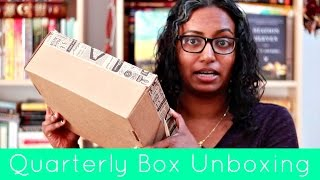 Unboxing - Book Riot's Quarterly Box #bkr06