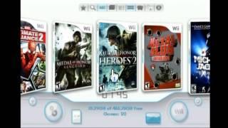 Chip de Wii Mis juegos de Nintendo Wii