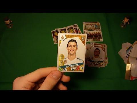 Распаковка 5-и пачек FIFA 365 (2018) Panini { } PACK OPENING { } ВЫПАЛ РОНАЛДУ!