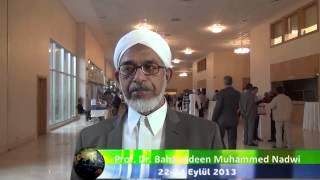 10 Uluslararası Bediüzzaman Sempozyumu   Prof Dr Bahauddeen Muhammed Nadwi İİKV Media
