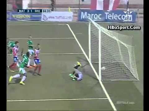 ملخص واهداف مباراة المغرب التطواني والدفاع الحسني الجديدي 5 1 الاهداف كاملة