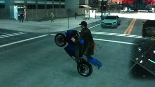How to make an Wheelie in Watchdogs
