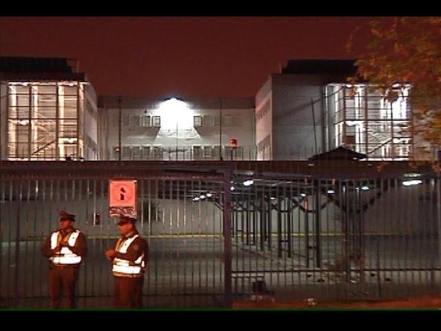 Cárcel de San Miguel: Extintor percutado movilizó a bomberos