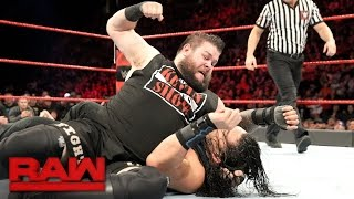 Roman Reigns & Seth Rollins vs. Kevin Owens & Chris Jericho: Raw, Dec. 19, 2016