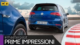 "Volkswagen Golf R 2017, look ""restyling"" e 310 CV 