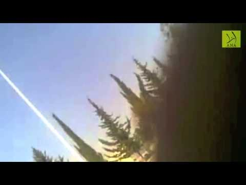SHOCKING FOOTAGE OF ALEPPO UNIVERSITY AIRSTRIKE