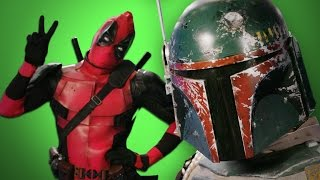 Deadpool vs Boba Fett. ERB Behind the Scenes