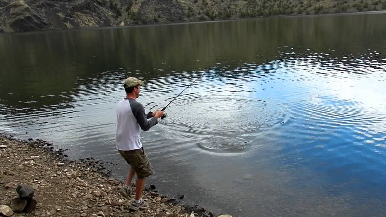 Prineville reservoir bait fishing youtube for Central oregon fishing report