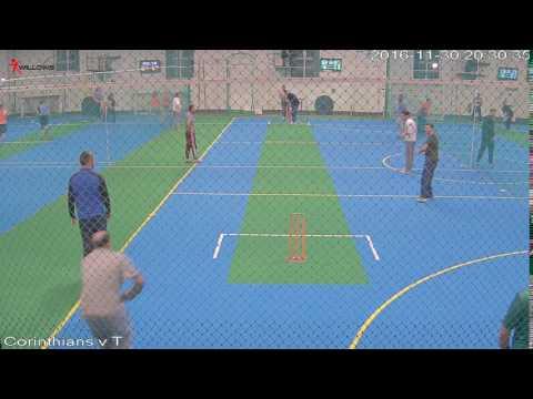 409127 Court2 Willows Sports Centre Cam3 Corinthians v The Sticky Wickets Court2 Willows Sports Cen