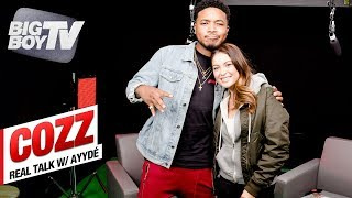 Cozz on Debut Album 'Effected', Working w/ J.Cole & Kendrick + Zendaya | Real Talk w/ Ayydé