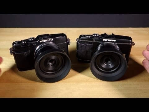 Olympus PEN E-P5 Review - EP-5 Vs EP-3 SHOOT-OUT