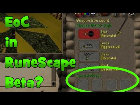 EoC Like System In RuneScape Beta? 10 Facts About The RuneScape 2 Beta