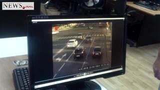 Incredible traffic offence in Yerevan, Armenia